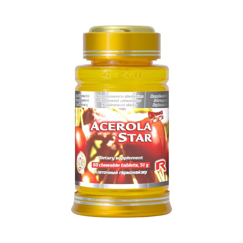 Acerola Star 60 tbl. Starlife DOPRAVA ZDARMA