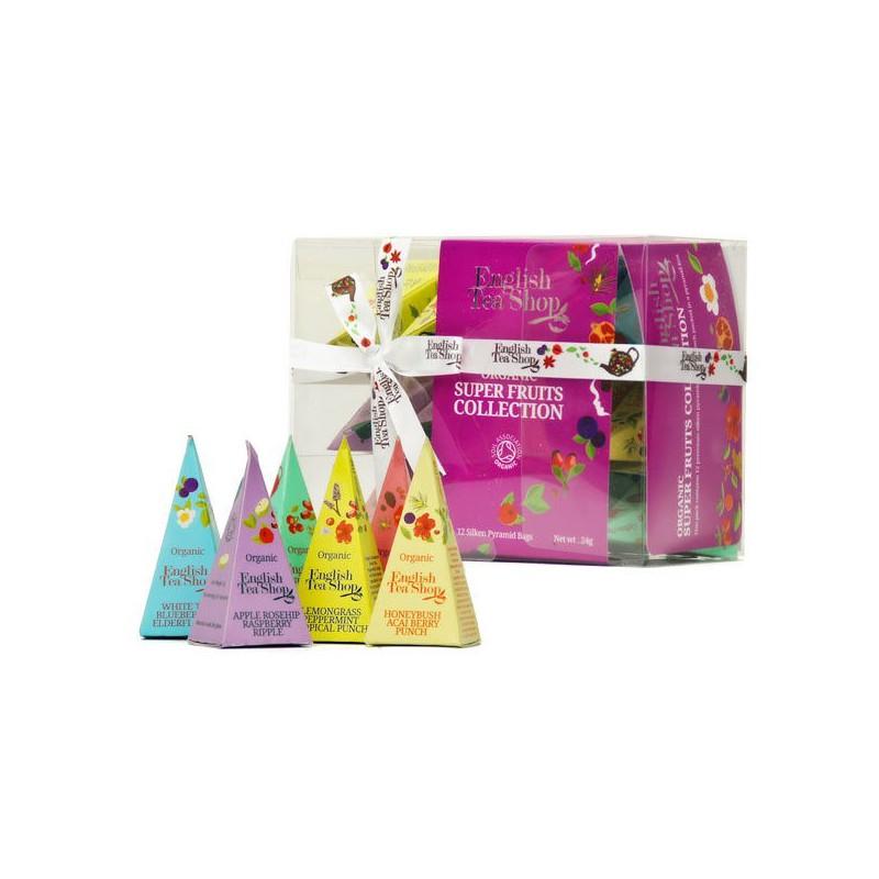 English Tea Shop Dárková kolekce 12 pyramidek Ovocné čaje