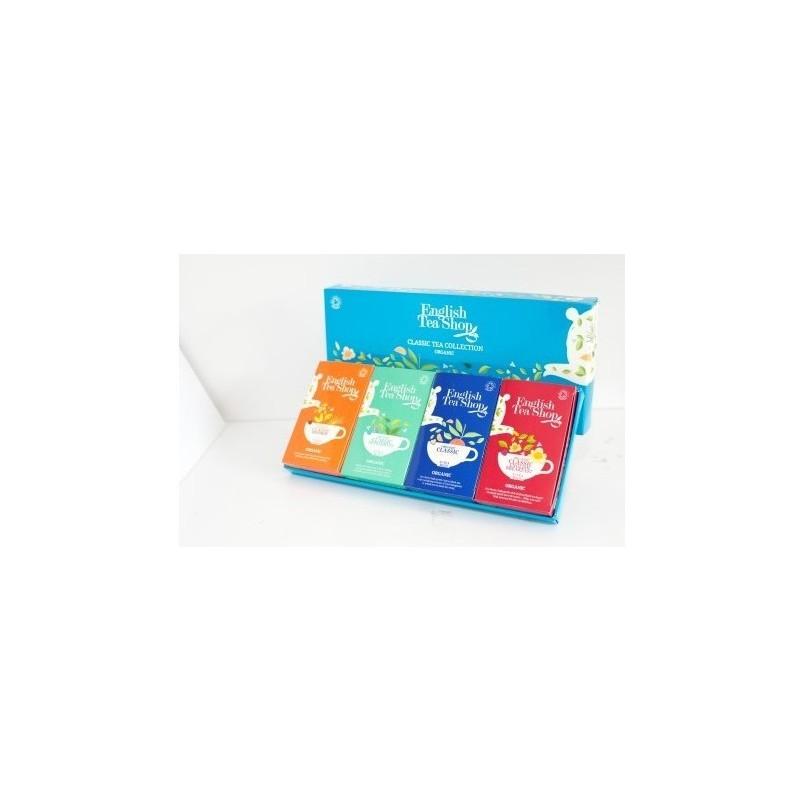 English Tea Shop Klasická kolekce 4 druhy čaje BIO, 60 sáčků