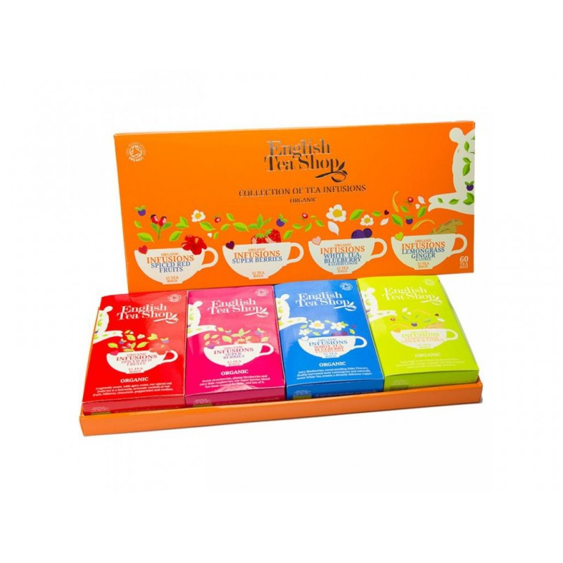 English Tea Shop Ovocná kolekce 4 druhy čaje 60 ks