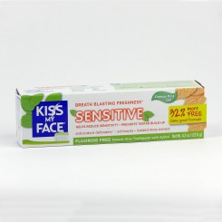 Kiss My Face Zubní gel Sensitive bez fluoridu 127,6 g