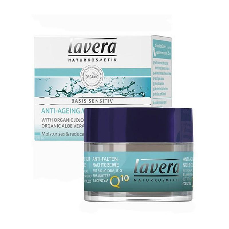 Lavera Lavera Basis Sensitiv noční krém Q10 50 ml