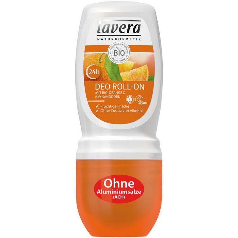 Lavera Lavera Pomeranč a Rakytník roll-on 50 ml
