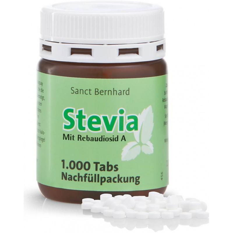 Sanct Bernhard Sanct Bernhard Stevia náhradní balení 1000 tablet