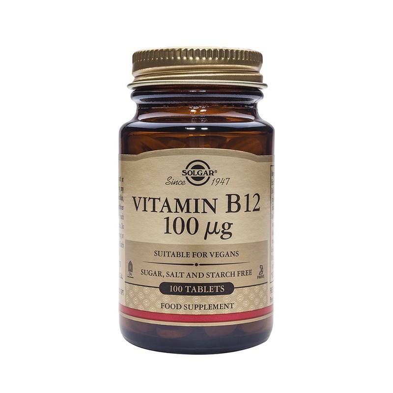 Solgar Vitamín B12 50 tablet