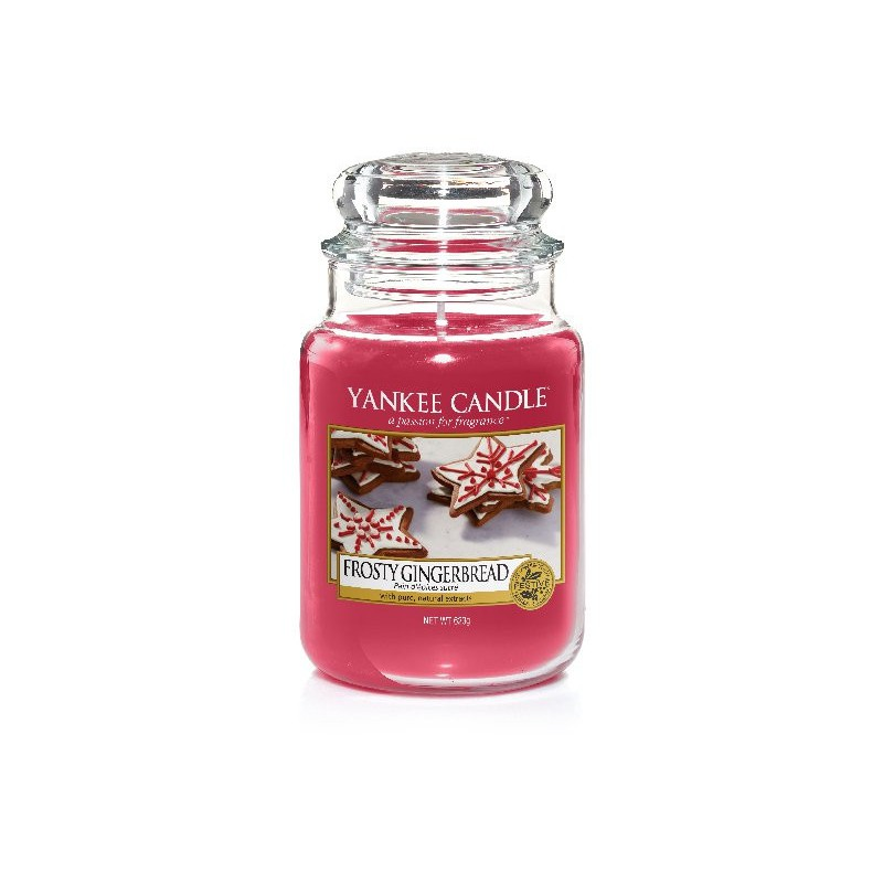 Yankee Candle Frosty Gingerbread 623 g