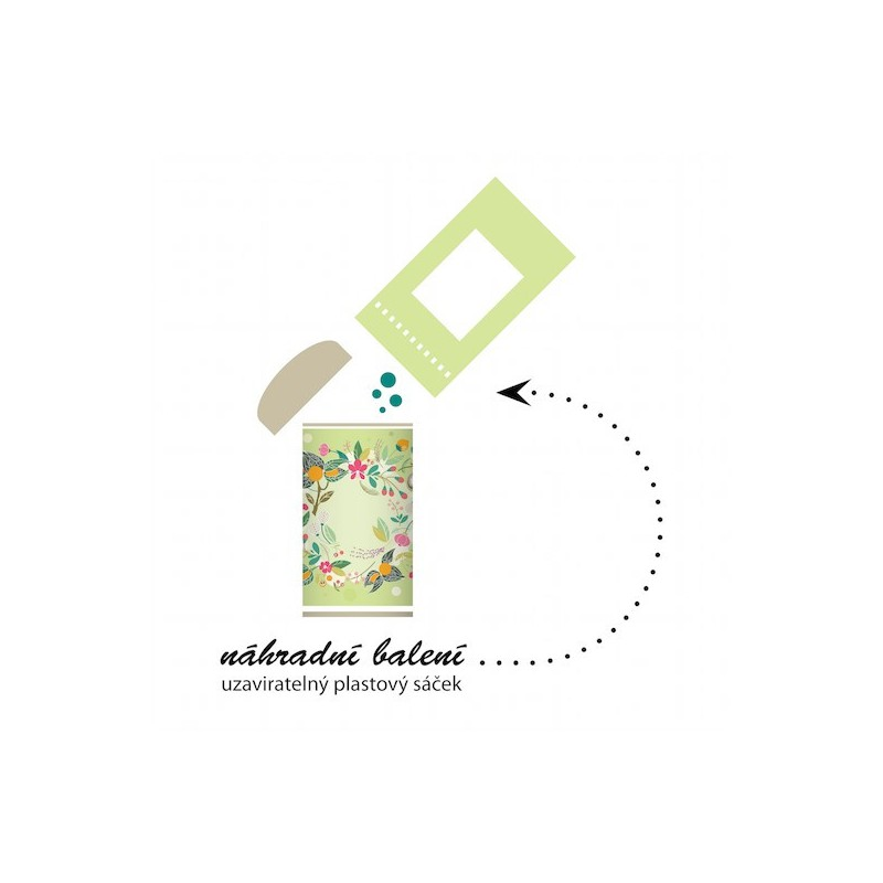 Naturalis Naturalis Acerola BIO náhradní balení do plechové dózy 100 g
