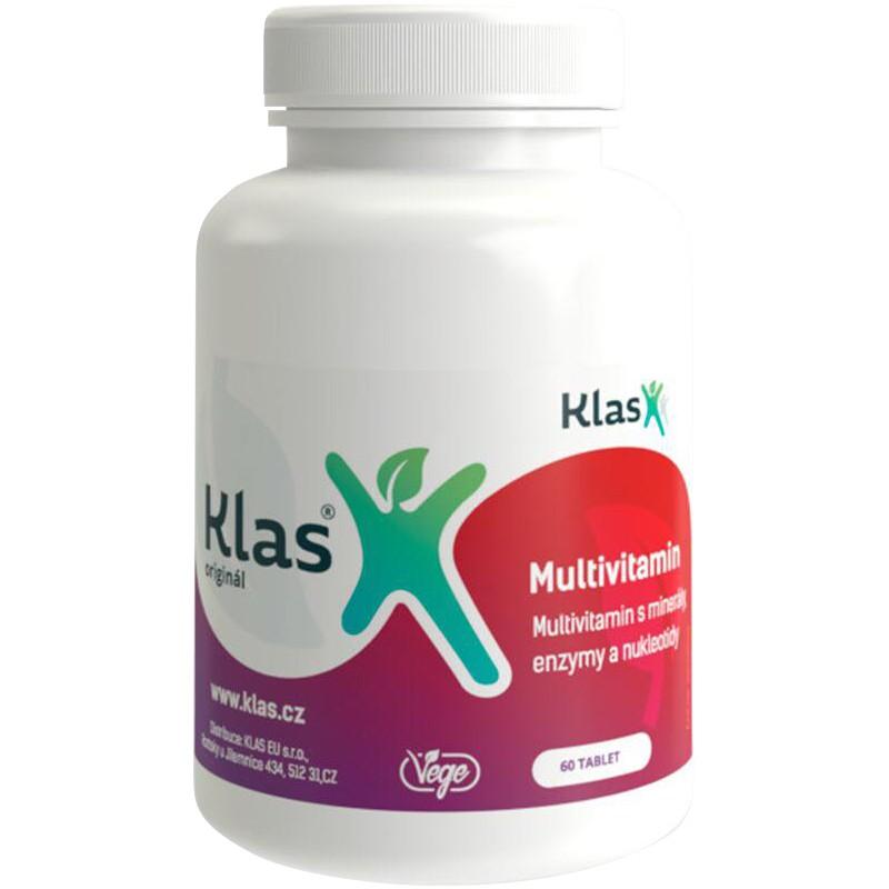 KLAS Multivitamíny plus minerály a enzymy 60 tablet