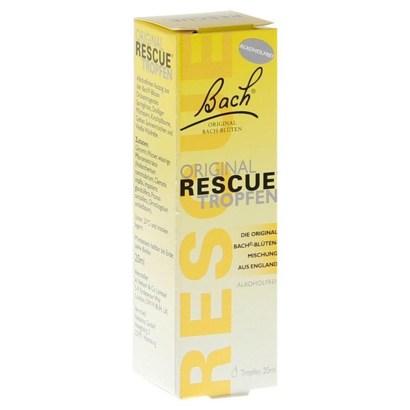Bachovy originální květové esence Krizové kapky (Rescue Remedy) 20 ml