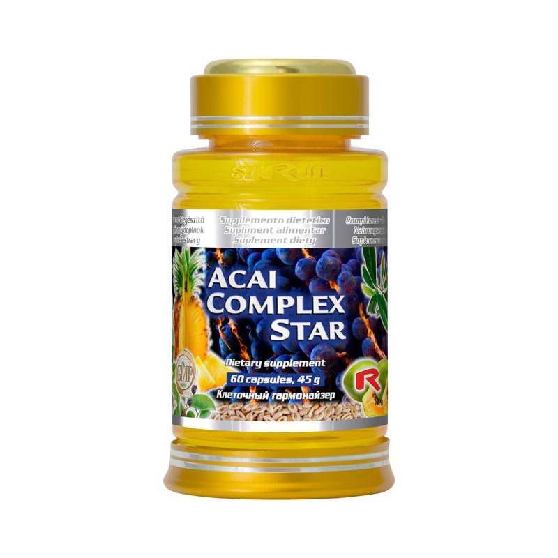 Acai Complex Star 60 kapslí Starlife DOPRAVA ZDARMA