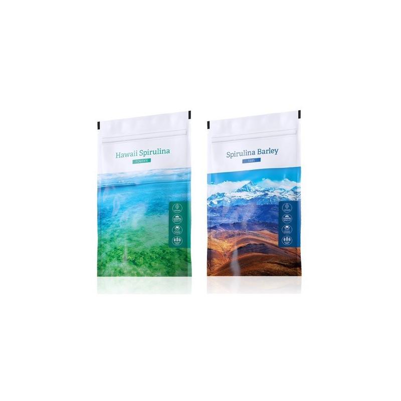 Energy Spirulina prášek plus Spirulina Barley