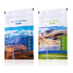 Spirulina Barley + Barley Juice tablety