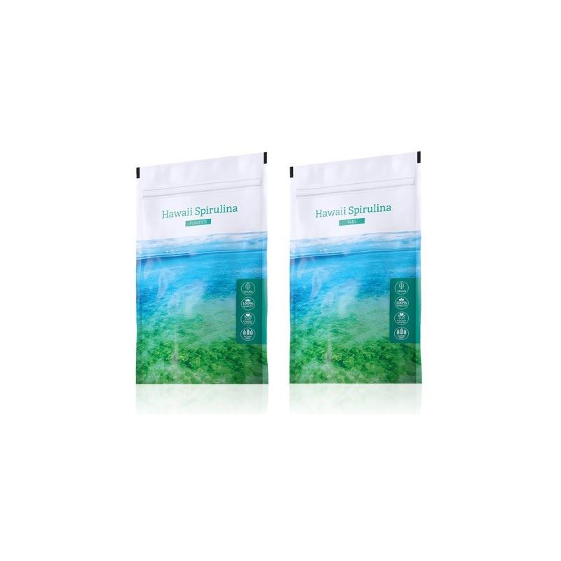 Energy Spirulina prášek plus Spirulina tablety