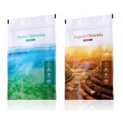 Spirulina tablety + Chlorella tablety