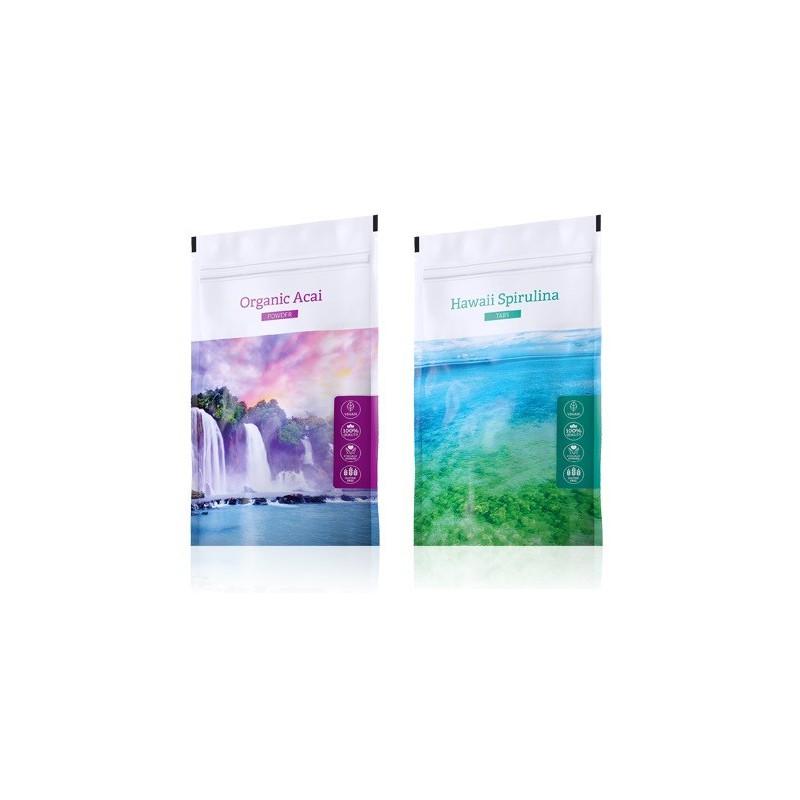 Energy Acai prášek plus Spirulina tablety