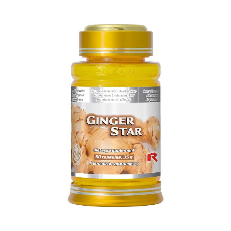Starlife Ginger Star 60 kapslí