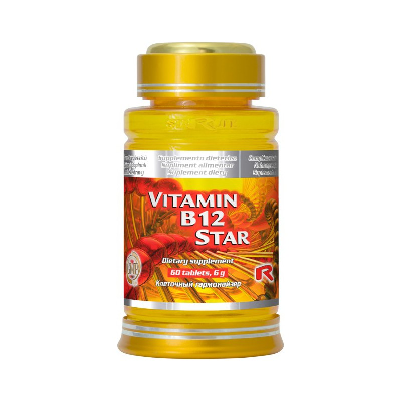 Starlife VITAMIN B12 STAR 60 tbl.