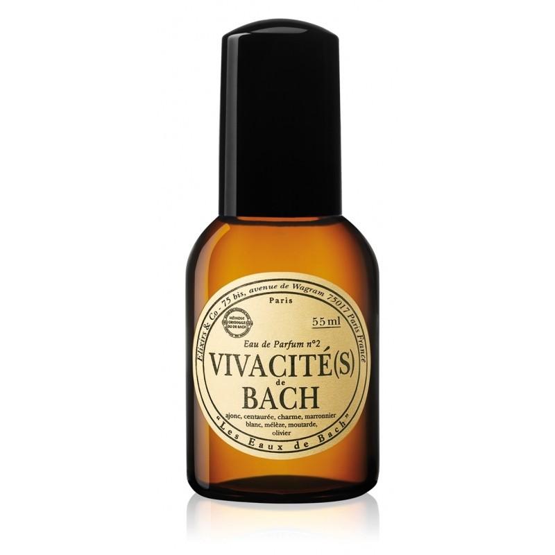Les Fleurs de Bach Les Fleurs de Bach Parfémová voda energetizující, Vivacités de Bach 55 ml