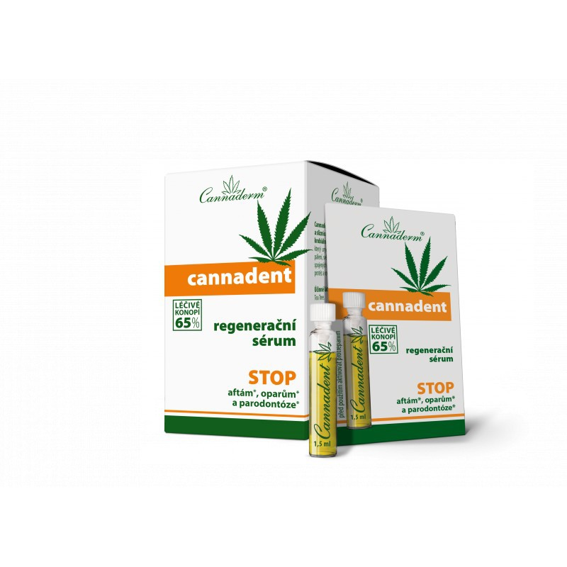 Cannaderm Cannaderm Cannadent regenerační sérum 10x1,2 ml