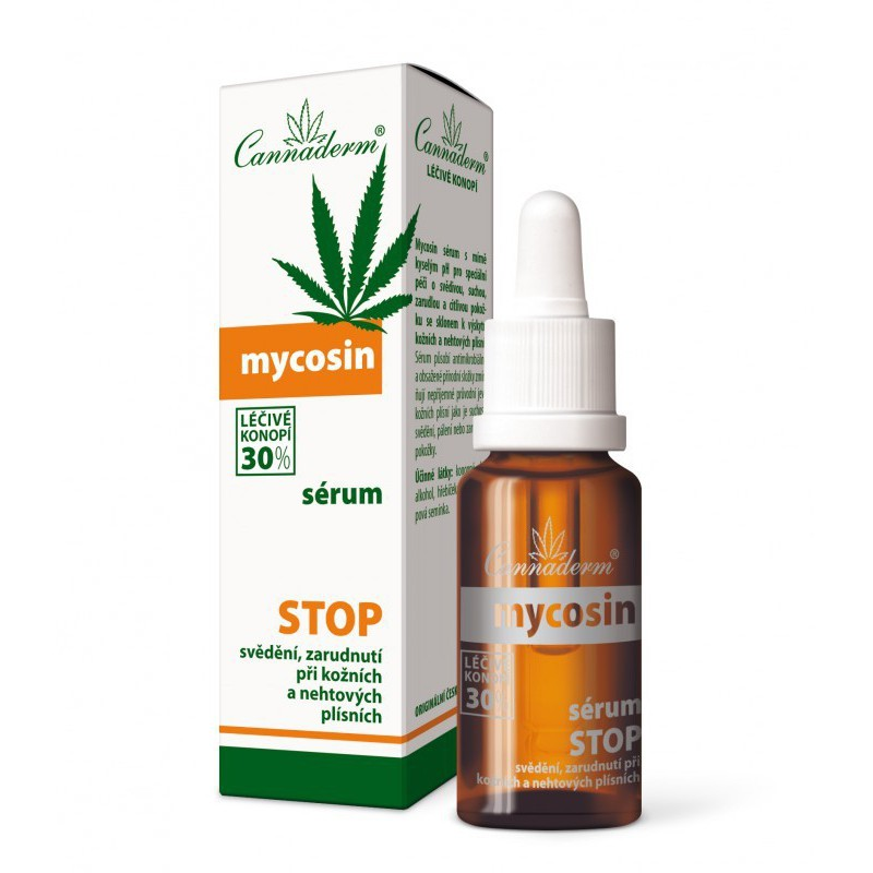 Cannaderm Cannaderm Mycosin sérum 20 ml