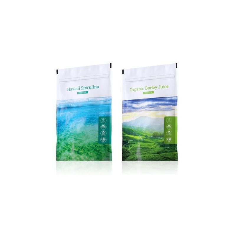 Energy Spirulina prášek plus Barley Juice prášek
