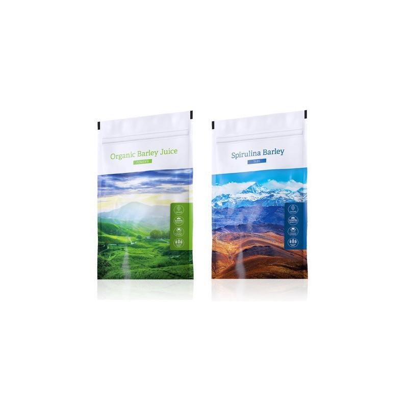 Energy Barley Juice prášek plus Spirulina Barley