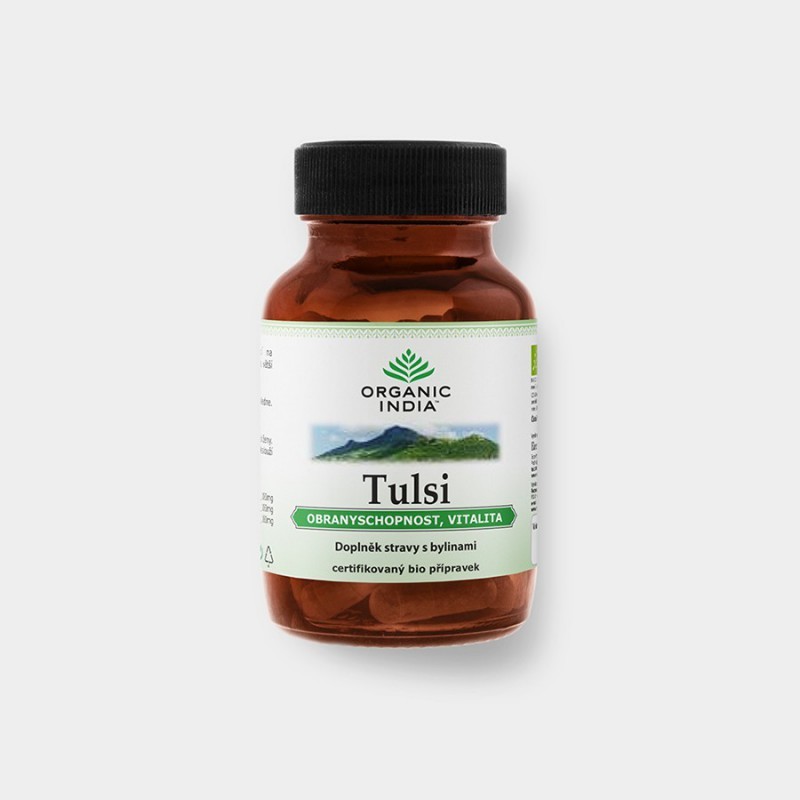 Organic India Tulsi BIO 60 kapslí