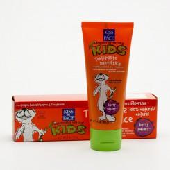 Kiss My Face Zubní pasta dětská bez flouridu, lesní plody 96 g