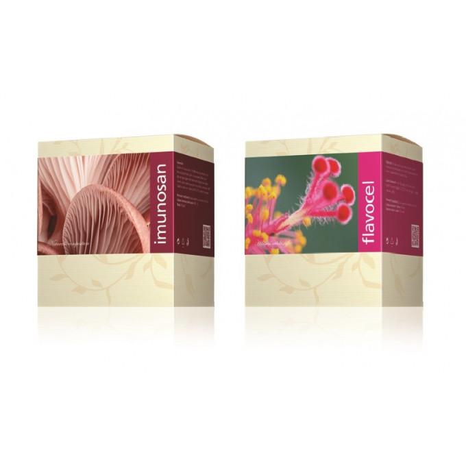 Imunosan + Flavocel - výhodný balíček!