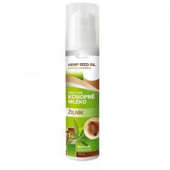 Regenerační tělové konopné mléko Žilník 200 ml