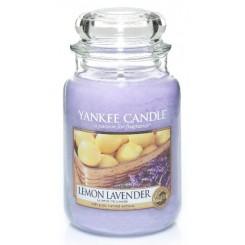 Yankee Candle Lemon Lavender vonná svíčka velká 623 g