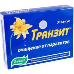 Tranzit - protiparazitická kúra 30 kapslí