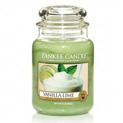 Yankee Candle Vanilla Lime vonná svíčka velká 623 g