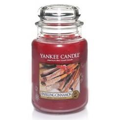 Yankee Candle Sparkling Cinnamon vonná svíčka velká 623 g