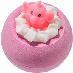 Bomb Cosmetics Koupelový balistik Růžový slon a limonáda 160 g