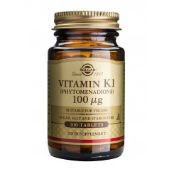 Solgar Vitamin K1 100 ug 100 tbl.