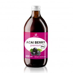 Acai Berry 100% Bio šťáva 500 ml