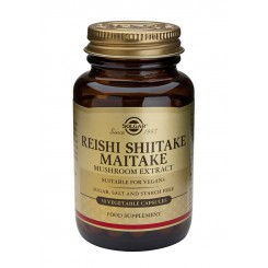 Solgar Extrakt z Shiitake, Reishi a Maitake 50 kapslí
