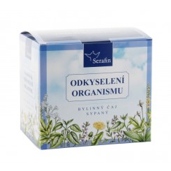 Serafin Odkyselení organismu bylinný čaj sypaný 2x50 g