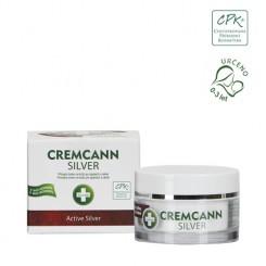 Annabis Cremcann Silver konopný krém na kůži na opary a akné přírodní 15 ml