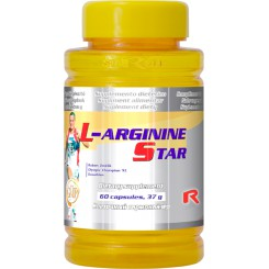 L-ARGININE STAR 60 kapslí