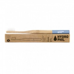 Hydrophil bambusový kartáček (medium) - modrý