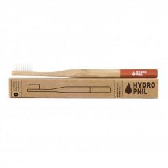 Hydrophil Bambusový kartáček (medium) - červený