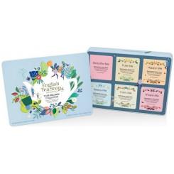 English Tea Shop čaj plechová kazeta WELLNESS modrá 36 ks