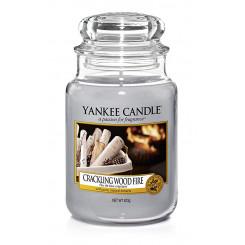 Yankee Candle Crackling Wood Fire vonná svíčka velká 623 g