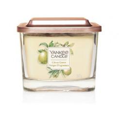 Yankee Candle Elevation Citrus Grove vonná svíčka hranatá střední 347 g