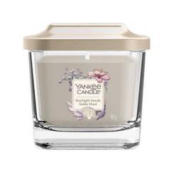 Yankee Candle Elevation Sunlight Sands vonná svíčka hranatá malá 96 g