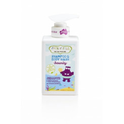 Jack n' Jill NATURAL BATHTIME Sprchový gel a šampon - SERENITY 300 ml