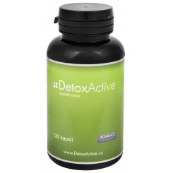 Advance nutraceutics DetoxActive 120 kapslí