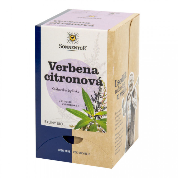 Sonnentor  Verbena citronová čaj bio 18 sáčků
